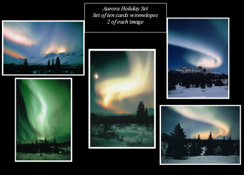 Aurora Holiday Note Card Set