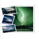 aurora note cards